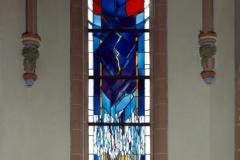 Mittleres Chorfenster der evang. Kreuzkirche in Betzdorf / Sieg