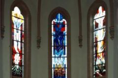 Chorfenster der evang. Kreuzkirche in Betzdorf / Sieg